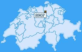 PLZ 8907 Schweiz