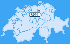 PLZ 8914 Schweiz