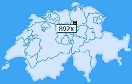 PLZ 892 Schweiz