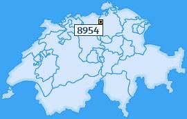 PLZ 8954 Schweiz