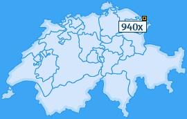 PLZ 940 Schweiz