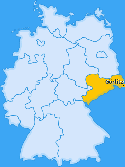 Kreis Görlitz Landkarte