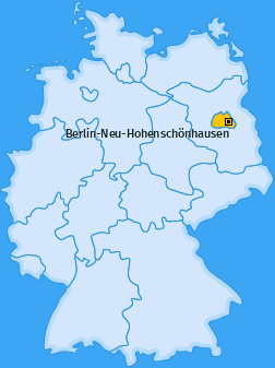Karte von Berlin-Neu-Hohenschönhausen