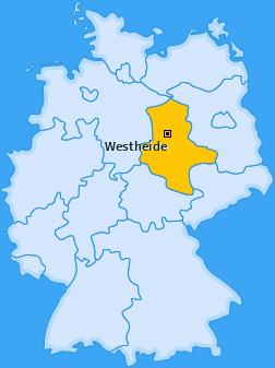 Karte von Westheide