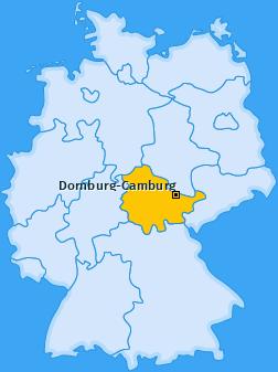 Karte von Dornburg-Camburg