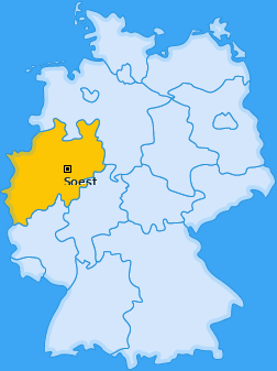 Kreis Soest Landkarte