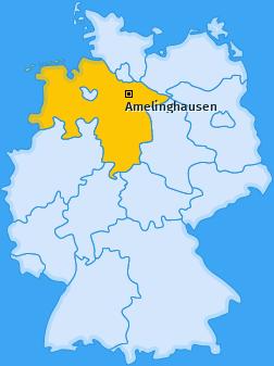 Karte von Amelinghausen