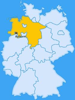 Karte von Ankum