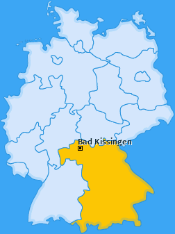 Karte von Bad Kissingen