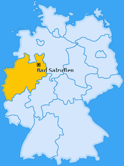 Karte von Bad Salzuflen