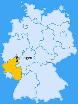 Karte von Bellingen