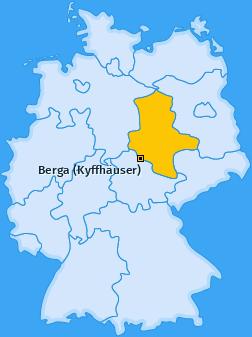 Karte von Berga (Kyffhäuser)