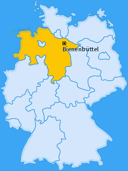 Karte Edendorf Bienenbüttel