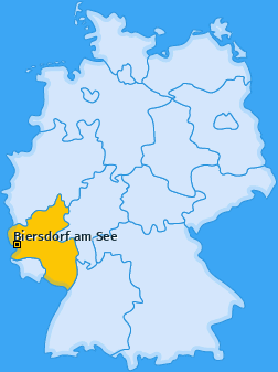 Karte von Biersdorf am See