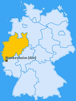 Karte Ahrhütte Blankenheim (Ahr)
