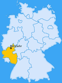 Karte von Burglahr