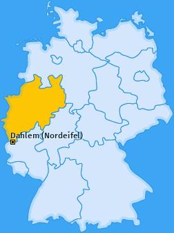 Karte von Dahlem (Nordeifel)