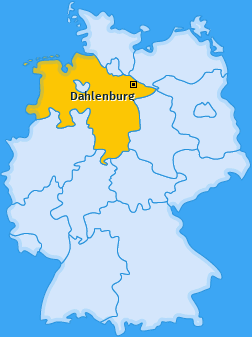 Karte von Dahlenburg