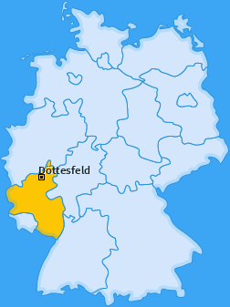 Karte von Döttesfeld