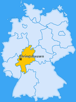 Karte von Ehringshausen