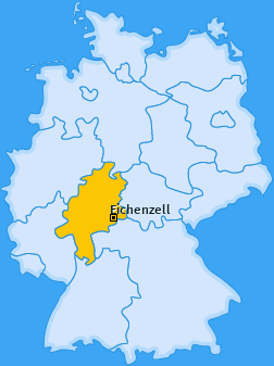 Karte von Eichenzell