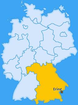 Karte von Ering