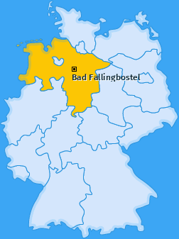 Karte von Bad Fallingbostel