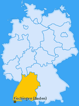Karte von Fischingen (Baden)