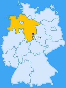 Karte von Flöthe