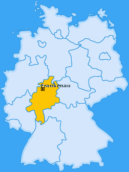 Karte von Frankenau