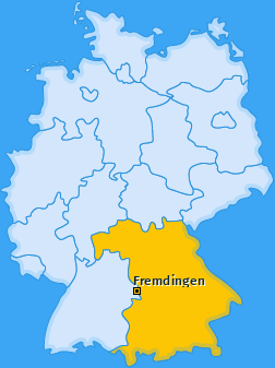 Karte von Fremdingen