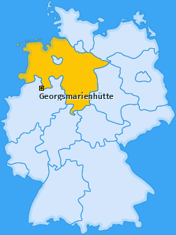 Karte von Georgsmarienhütte