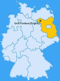 Karte von Groß Pankow (Prignitz)