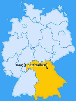 Karte von Haag (Oberfranken)