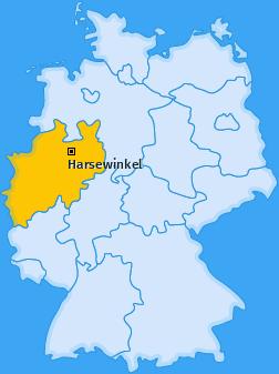 Karte von Harsewinkel