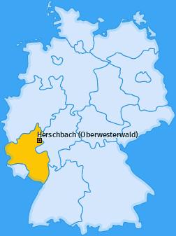 Karte von Herschbach (Oberwesterwald)