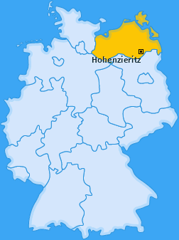 Karte von Hohenzieritz