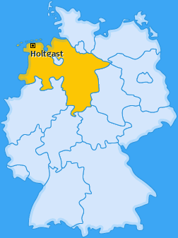 Karte von Holtgast