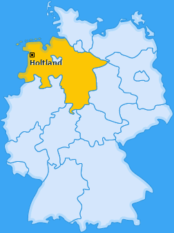 Karte von Holtland