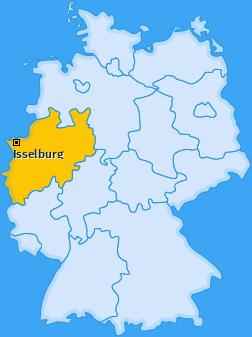 Karte von Isselburg