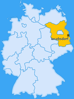 Karte von Jacobsdorf