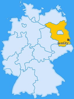 Karte von Jamlitz