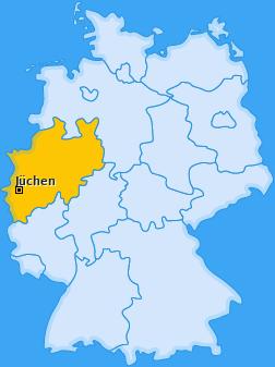 Karte von Jüchen