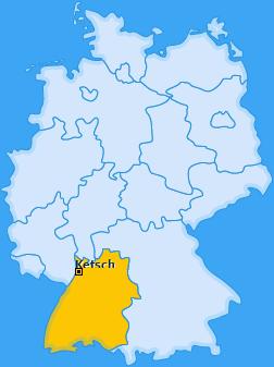 Karte von Ketsch