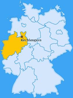 Karte von Kirchlengern