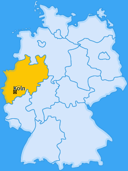 Karte Altstadt-Süd Köln