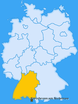 Karte von Kressbronn am Bodensee