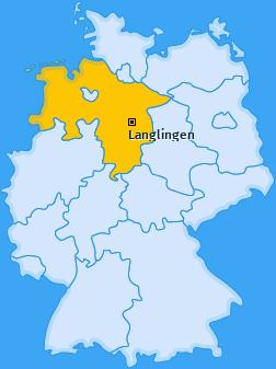 Karte von Langlingen