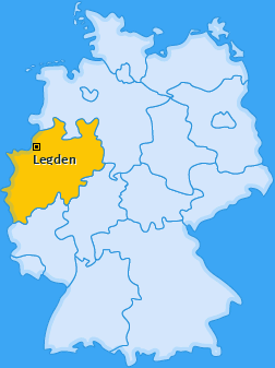 Karte von Legden