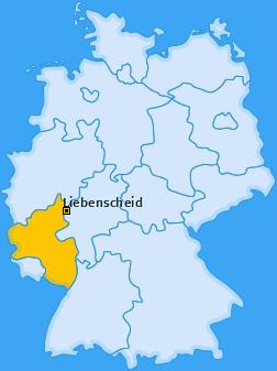 Karte von Liebenscheid